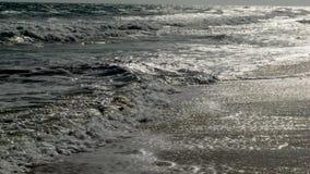 Image Of Silver Sea Weave At Dhanushkodi Beach, Shot From The Rameswaram-Dhanushkodi Road. Image Of Silver Sea Weave At Dhanushkodi Beach, Shot From The Stock Images