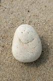 Image of smile on sea stone Stock Photo