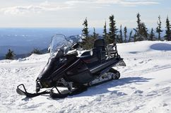 Image snowmobile Stock Image