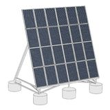 Image of solar panel Royalty Free Stock Image