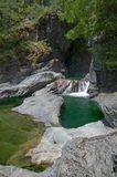 Image of the Sooke Potholes, BC, Canada. Image of the Sooke Potholes Provincial Park, Vancouver Island, BC, Canada stock photo