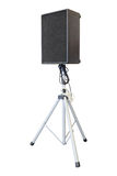 Image of a sound speaker on stand Stock Image
