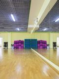 Sport and dancing hall Stock Photo