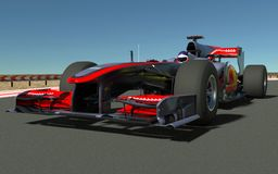 Sports car F1 stock image