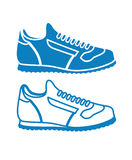 Image of sports shoes Stock Image