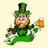 It is image of St. Patrick Royalty Free Stock Images