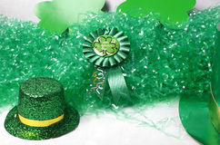 Image of St Patricks Day. An image showing the concept of St Patricks Day with a green hat Stock Images