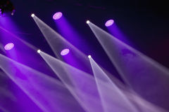 Image of stage lighting effects Royalty Free Stock Photo