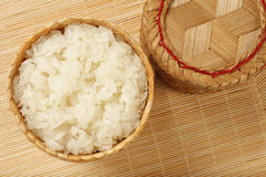 Image of sticky rice Royalty Free Stock Photography