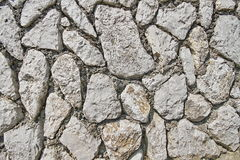 Image of stone rock texture wall. Background closeup Royalty Free Stock Photography
