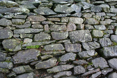 Image of Stone wall. A part of the stone wall in Cumbria, England Royalty Free Stock Photography