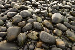 An image of stones on the beach Royalty Free Stock Photography