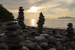 An image of stones on the beach Royalty Free Stock Photo