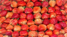 Texture of Strawberries royalty free stock photography