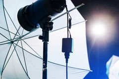 Image of Studio Lighting royalty free stock photography