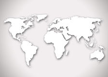 Image of a stylized world map Stock Images