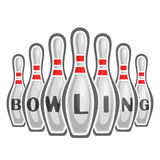 Image on the subject of bowling Stock Photo