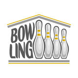 Image on the subject of bowling Stock Image