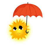 image of the sun Royalty Free Stock Photo