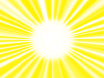 The image of the sun. Close-up. The sun and sunbeams for  background Royalty Free Stock Photos