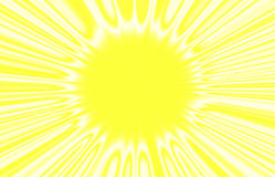 The image of the sun. Royalty Free Stock Photography