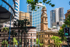 An image of Sydney`s central business district Stock Photography