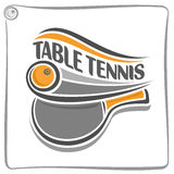 The image on the table tennis theme Royalty Free Stock Photography
