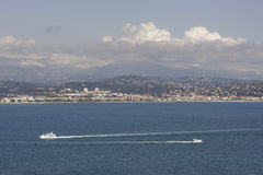 French Riviera view Stock Images