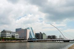 Beautiful view in Dublin royalty free stock photography