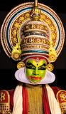 Kathakali kerala classical dance mens facial expression royalty free stock images