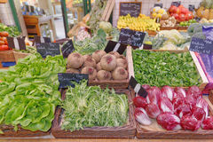 French fruit and vegetables Royalty Free Stock Photo