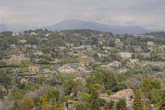 Mougins countryside landscape Royalty Free Stock Photography