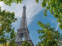 Image Of Tallest Iron Structure, Close Shot, Shot At Paris stock images