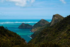 Tasman Sea coast near Auckland, New Zealand Stock Images
