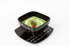 Image of tasty broccoli soup Royalty Free Stock Photography