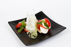 Image of tasty caprese salad Stock Images
