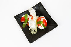 Image of tasty caprese salad Royalty Free Stock Photo
