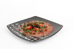 Image of tasty carpaccio Stock Photo