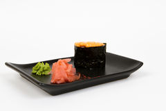 Image of tasty creamy nigiri Stock Photos