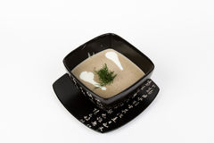 Image of tasty mushroom soup Royalty Free Stock Images