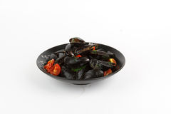 Image of tasty mussels Royalty Free Stock Photo