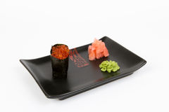 Image of tasty nigiri Royalty Free Stock Photography