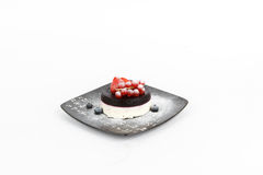 Image of tasty panna cotta Stock Photo