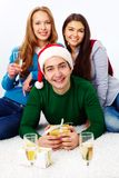 Celebrating holiday Stock Images