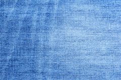 The image of textures of denim fabrics for the background, patterns and creativity. Royalty Free Stock Photo