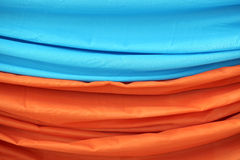 Image of thin bright fabrics Stock Image