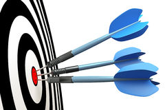 Dart arrows Stock Image