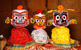 Image of the three lords of Orissa Royalty Free Stock Image