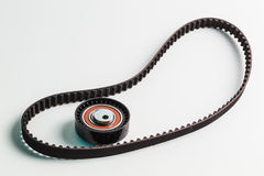 Image of timing belt with rollers Stock Images