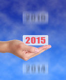 Into 2015 Royalty Free Stock Image
